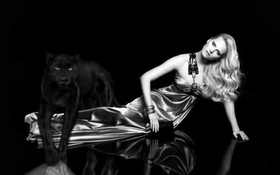 panther, девушка, черная, black, blankets, devushki,