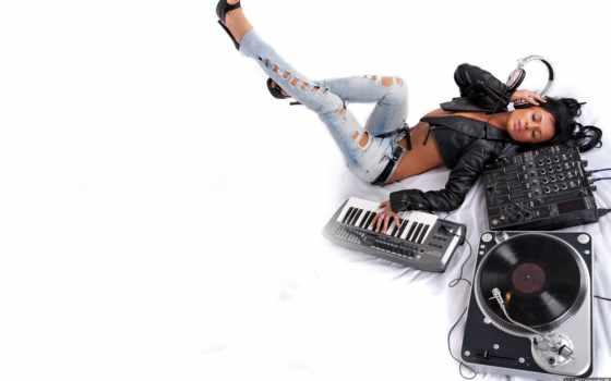 девушка, mix, tukur, pharrell, hot, headphones, williams, dekhte, happy, edit,