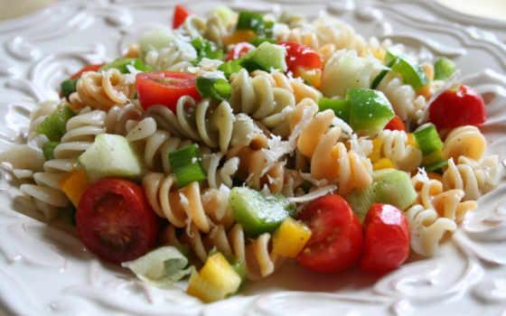 салат, макароны, вкусно