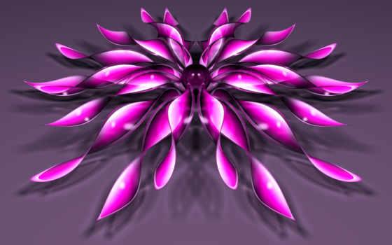 цветок, телефон