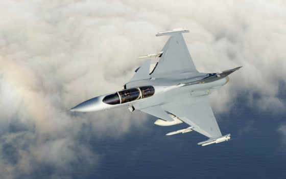 gripen, saab, небо, радуга, supersonic, fighter, aircraft, plane, fight,