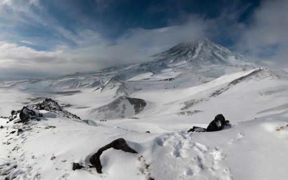 горы, панорамы, панорама, landscape, базе, нов, качестве,