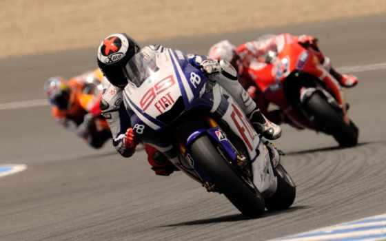 мотоцикл, дорога, скорость