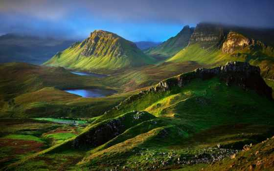 шотландия, горы, природа