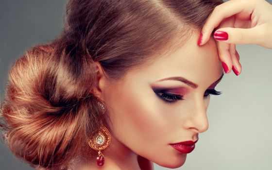клипарт, девушка, макияж
