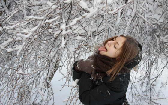 devushki, зимой, zima, девушка, особенный, красивы, девушек, смешные, без, лица,