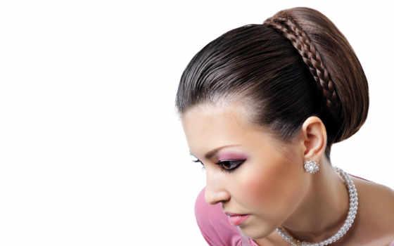 прически, голове, hairstyle, волос, cone, стиле, сделать,