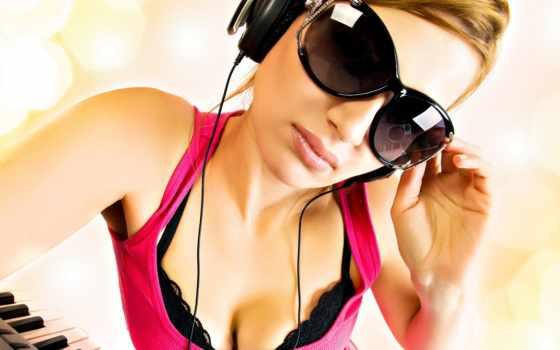 sunglasses, очки, модель, headphones, like, desktop,