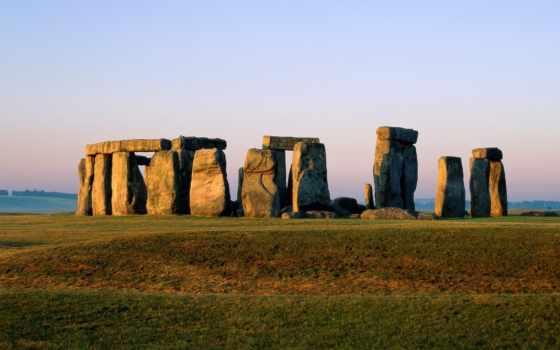 stonehenge, великобритания, великобритании, каменное, наследия, листь, внесённое, всемирного,