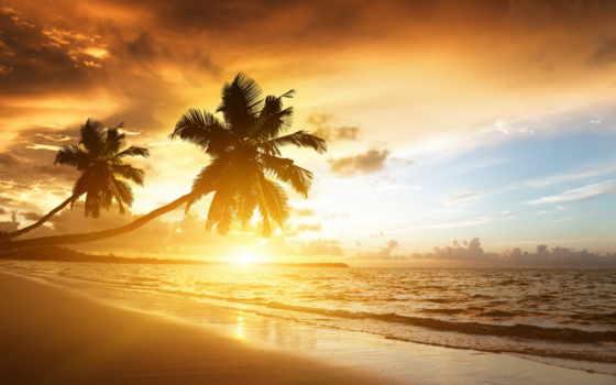 фотообои, небо, пляж, clouds, восход, life, ocean, море, закат, природа,