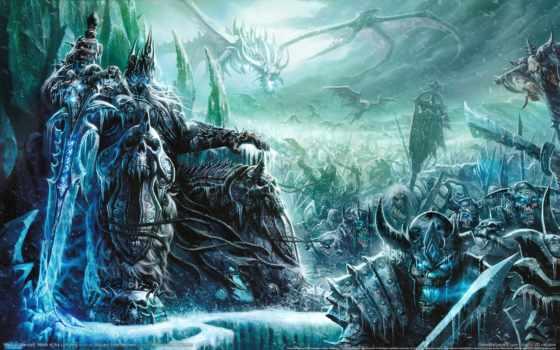 world, king, warcraft, трон, лич, артас, короля, лича,