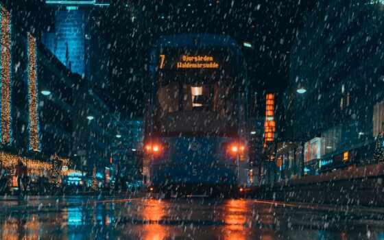 дождь, дождь, телефон, rainy, смартфон, фон, ночь, parallax, клеточка, планшетный