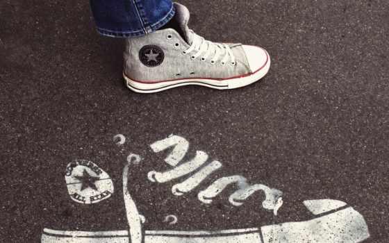 converse, star, туфли, logo, chuck, фон,