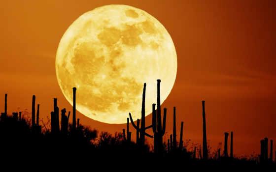 луна, cu, оранжевое