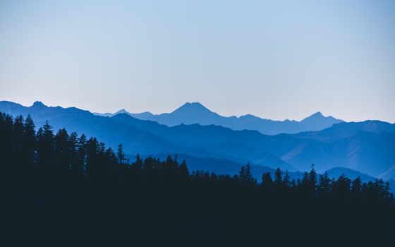 горы, лес, ultrahd, landscape, природа, гора, туман, смотреть,