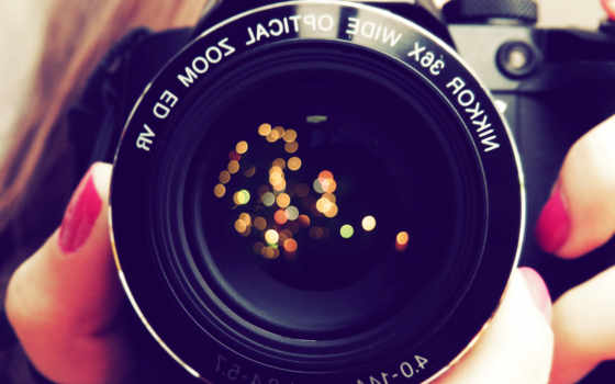 ecran, fonds, photographie, objets, images, фотоаппарат, fond, plan,