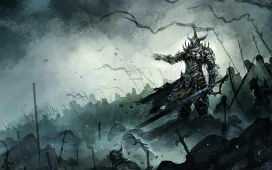 skeleton, fantasy, lord, art, facebook, armor, chaoyuanxu, cover, herrn,