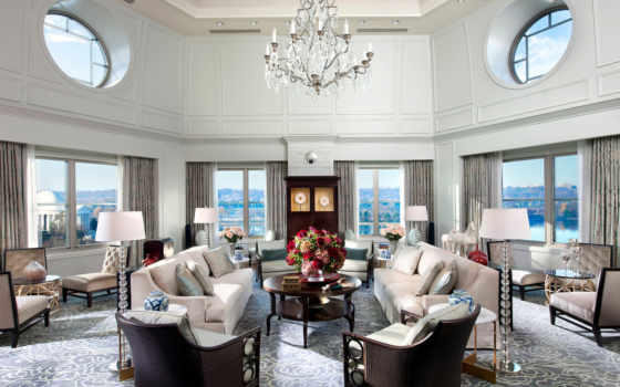 washington, mandarin, oriental, suite, presidential, room,