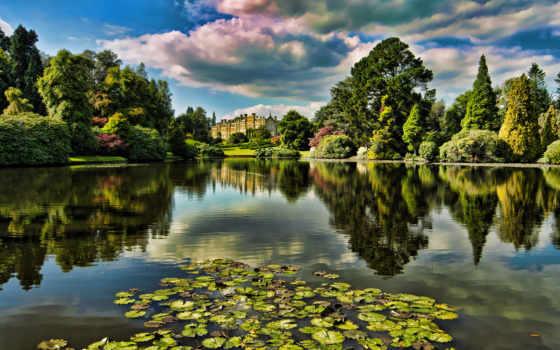 garden, дворец, замок