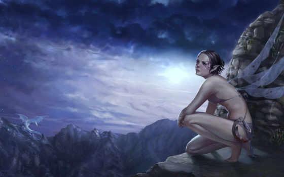 фея, эльфы, девушка