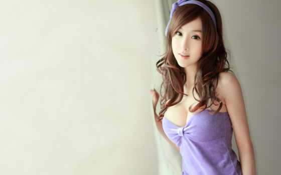 внешности, девушка, азиатской