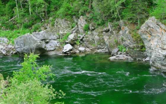 река, water