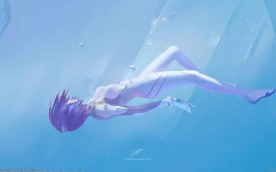 anime, день, девушка, evangelion, пасть, record, осколки, масть,