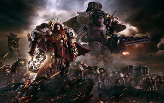 рассвет, war, iii, warhammer,