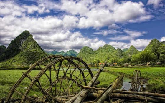 vietnam, деревня, country, изображение, naschityvauschii, landscape