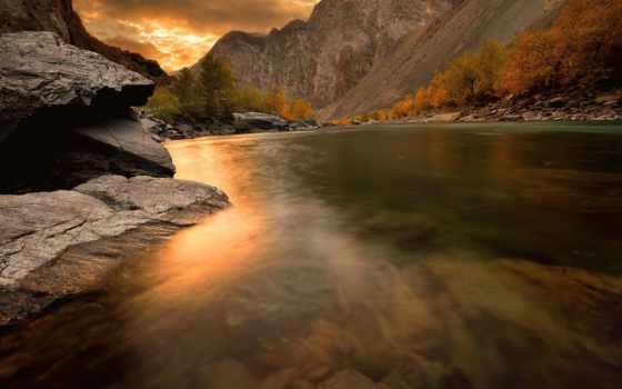 алтай, гора, android, природа, осень