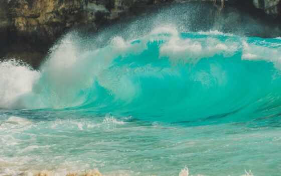море, ocean, волна, дневной, во, water, domain, public, royalty, blue, мужчина