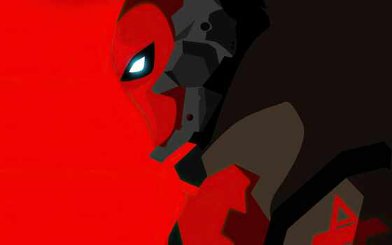 red, капюшон, mobile, archaeological, plus, супергерой