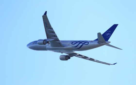 airbus, полет Фон № 21318 разрешение 2560x1600