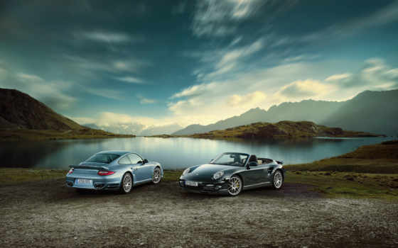 porsche, turbo, cabriolet, angle, front, picture, resolution, will, автомобили,
