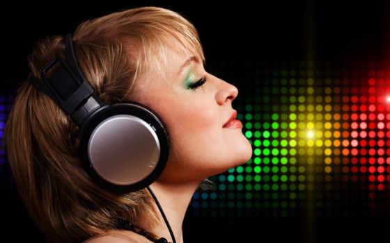 девушка, headphones, бусы,