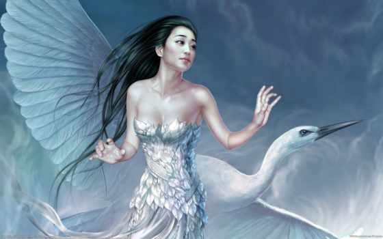 devushki, fantasy, девушка