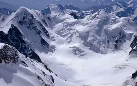 fondos, pantalla, invierno, nieve, innvierno, montañas, con,
