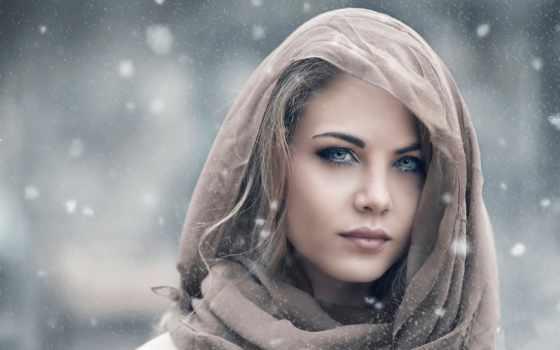 девушка, devushki, взгляд, красивая, that, платок, portrait, свет, самые, красивые, you,