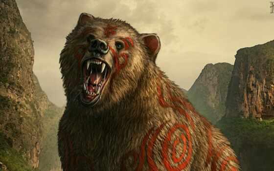 фотографий, медведи, warcraft, медведь, fantasy, уже, загружено, коллекция, druid, лучшая,