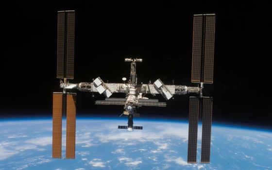 космос, земли, станция, around, луна, международный, cosmos,  летает, интернет,