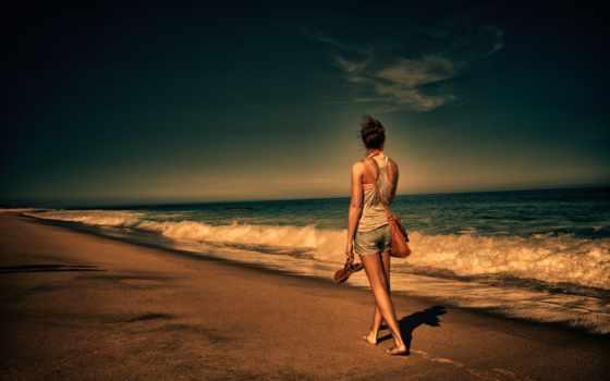море, девушка, побережье, telegram, vkontakt, facebook, pinterest, twitter