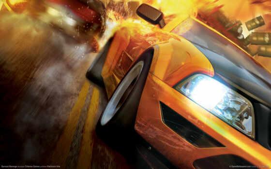 burnout, revenge Фон № 11322 разрешение 1920x1200