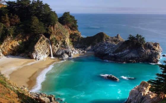 пейзажи, kartinka, море