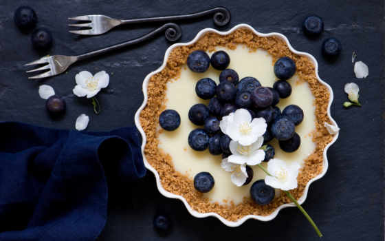 psd, bakery, черника, ягоды, вилки, souffle, photoshop, шаблон, июнь, free,