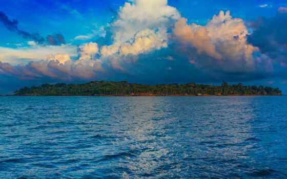 море, остров, havelock, dive, прокатиться, прогулка, порт, nagar, акваланг, пляж, glass
