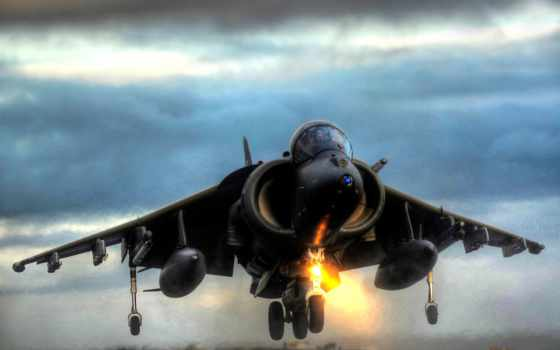 jet, посадка, вертикальная, harrier, fighter, military,