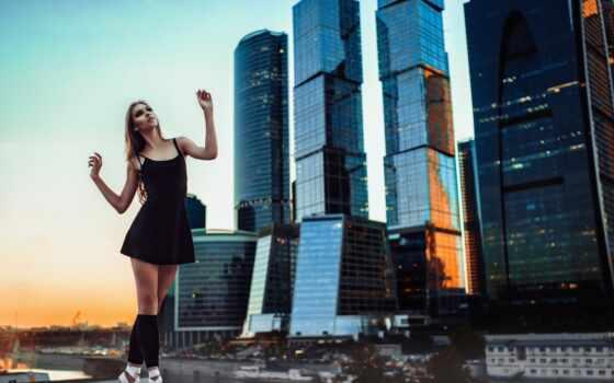 москва, город, москве, международный, business, центр, акула, стройная, фото,