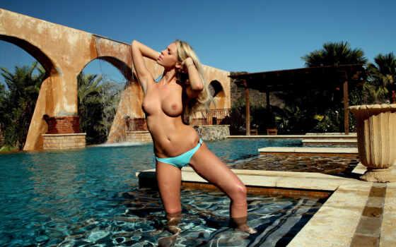 мари, бассейн, swimming