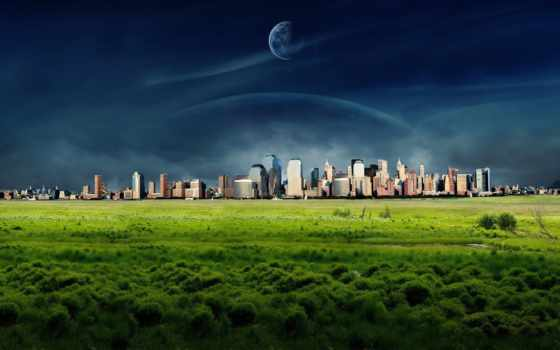 город, панорама, landscape, города,