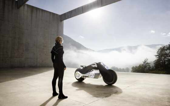 motorrad, vision, next, мотоцикл, компания, avto, концепт, решить, black, zaschitit, быть